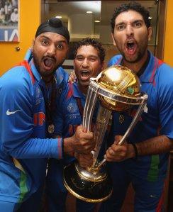 Harbhajan, Sachin & Yuvraaj Singh